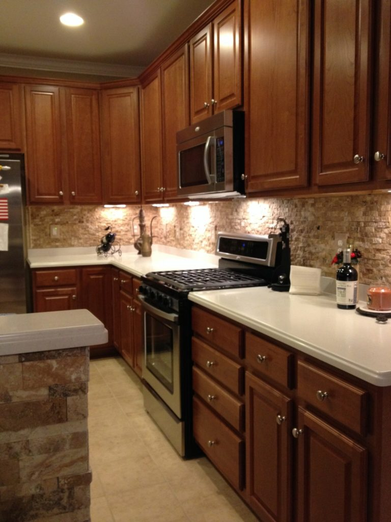 Quartz Backsplash